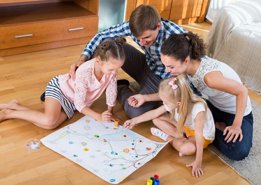 Relation parents enfants jeux